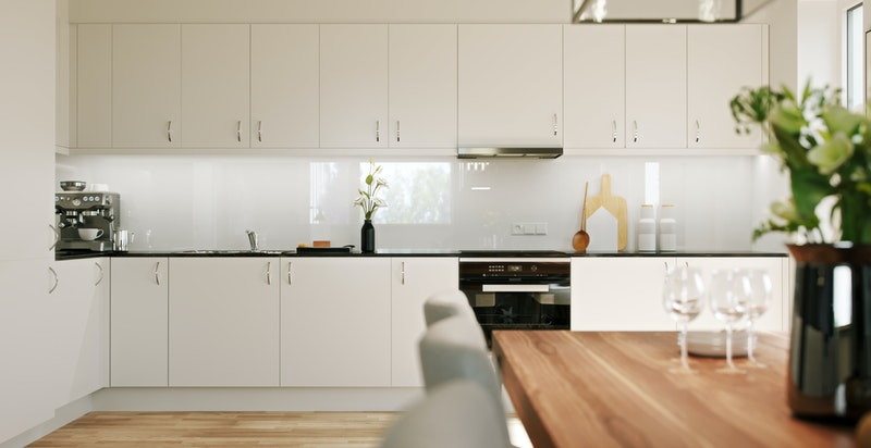 Eksempel på kjøkken 4-roms. Avvik kan forekomme.