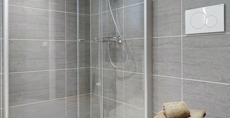 Bilde fra visningsleiligheten - Bad