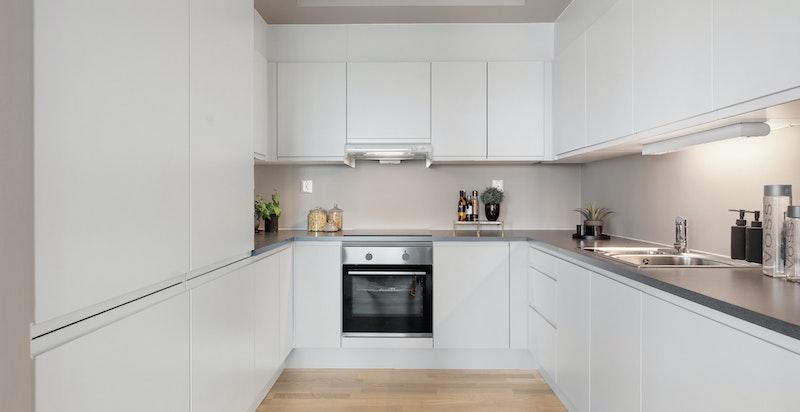 Leilighet B403 - Kjøkken