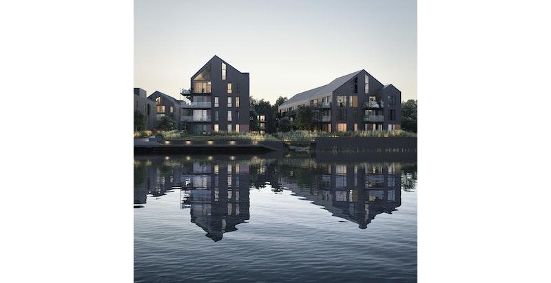 Nye leiligheter ved vannkanten