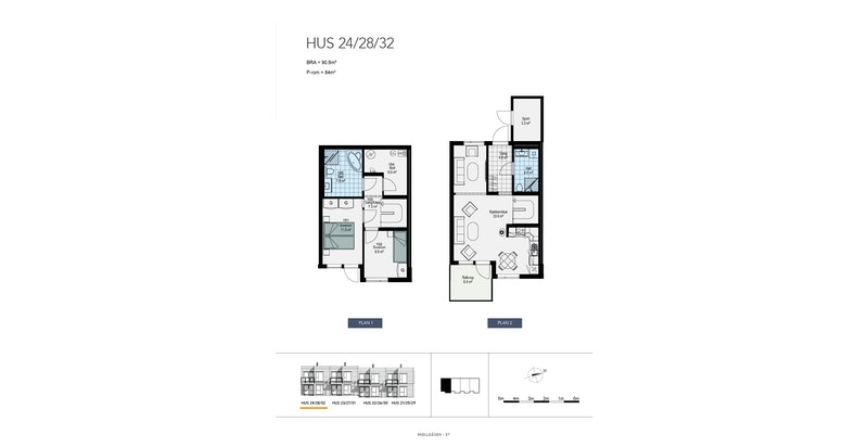Planløsning - Hus 24