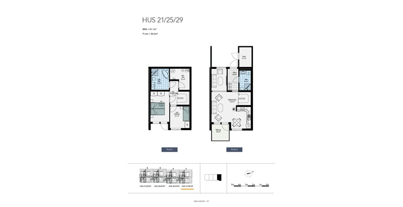Planløsning - Hus 29