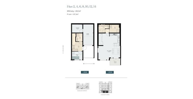 Hus 6 - etg 1 og 2