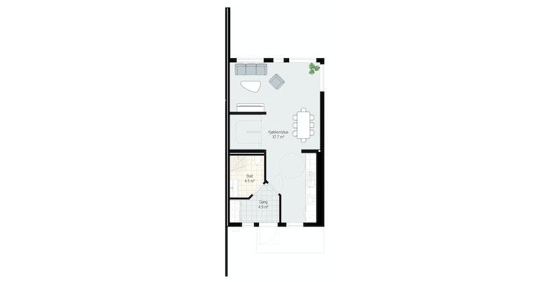 Plan 2 Hus 58