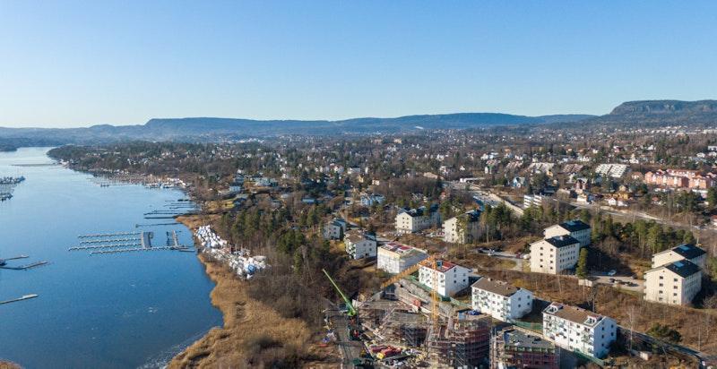 Foto fra byggeplass februar 2020