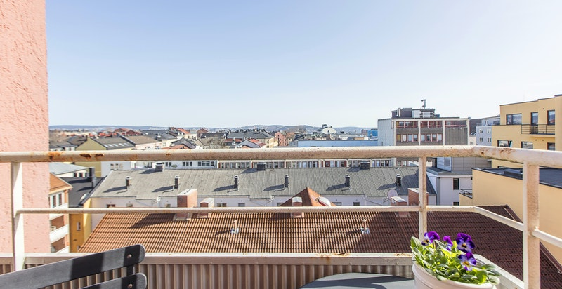 Ole Vigs gate 16 - 8. etasje med heis og flott utsikt!