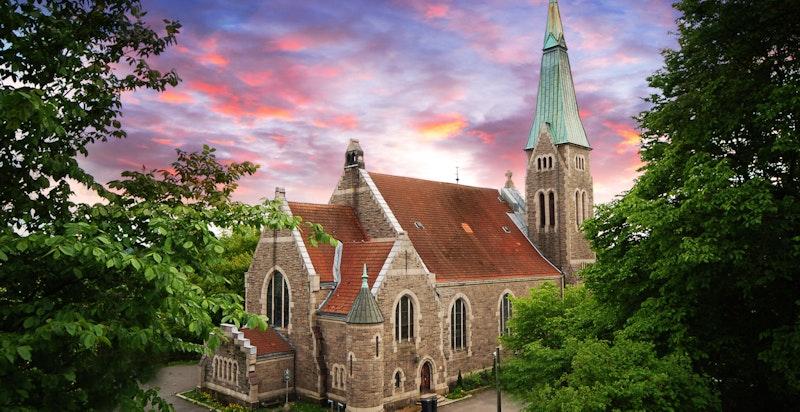 Nærområdet - Fagerborg kirke