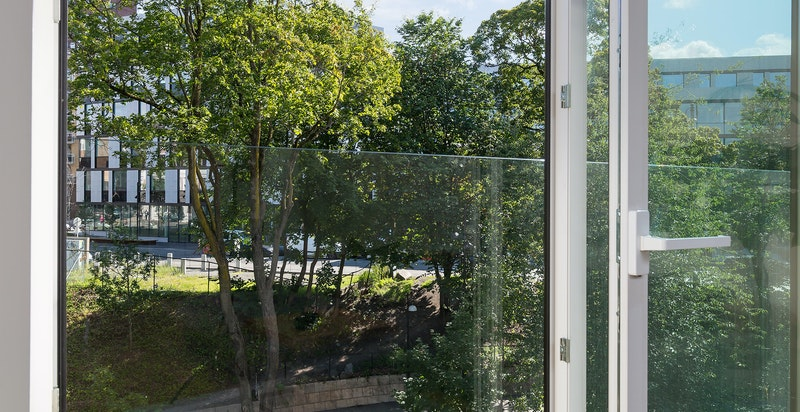 Utsikt fra stue.
