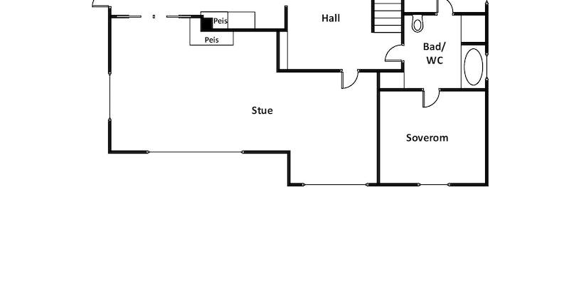 Planskisse - 1. etasje