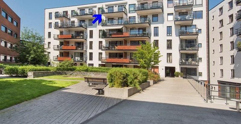 Fasade Lysaker Brygge 20