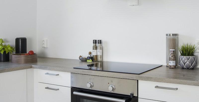 Integrerte hvitevarer på kjøkkenet