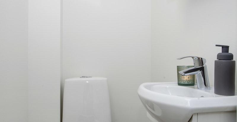 Separat toalett i 2. etg.