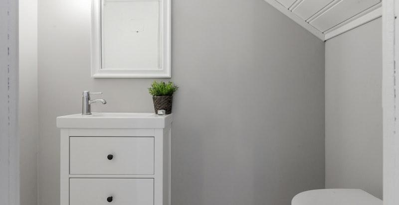 Pent separat wc i 2. etg.
