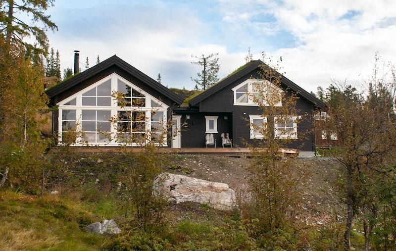 Hytte nybygget i 2017
