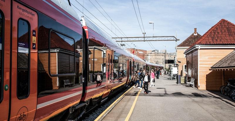 Kun noen få hundre meter til togstasjonen på Kolbotn.