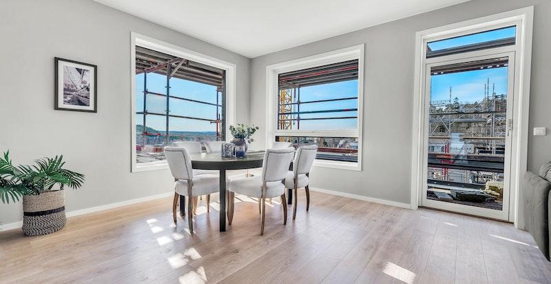 Bilde fra leilighet B604.