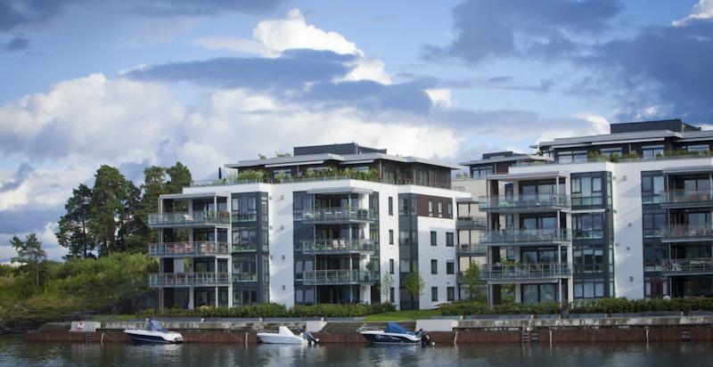 Rolfsbukta er et av Fornebus aller flotteste områder! De som kjøper bolig i Rolfsbukta Terrasse er de siste som flytter inn i Rolfsbukta - da er alt utbygget og ferdig.