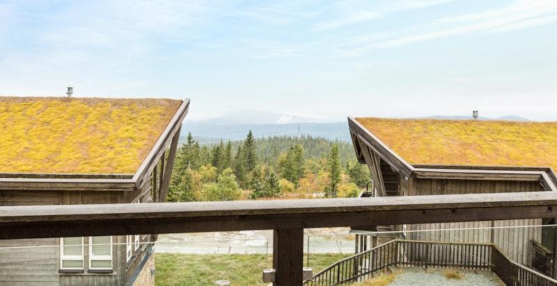 Terrasse - i klarvær vid utsikt