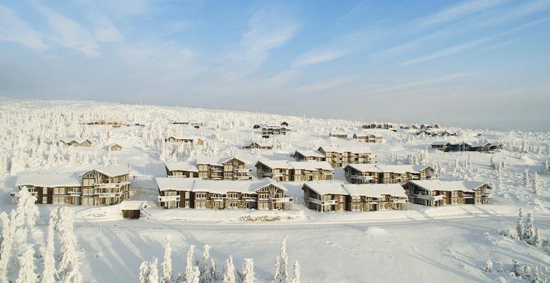 903 - ski in-ski out. Høyt og fritt beliggende sameie med beste beliggenhet på Norefjell