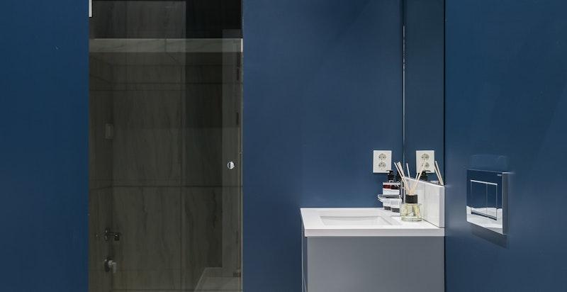Bad tilknyttet hybel - Opplegg for vaskemaskin