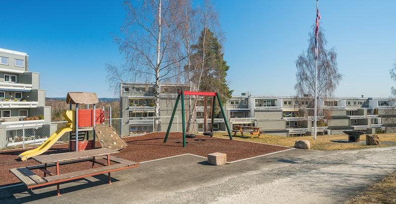 Flere lekeplasser på sameiets fellesområde