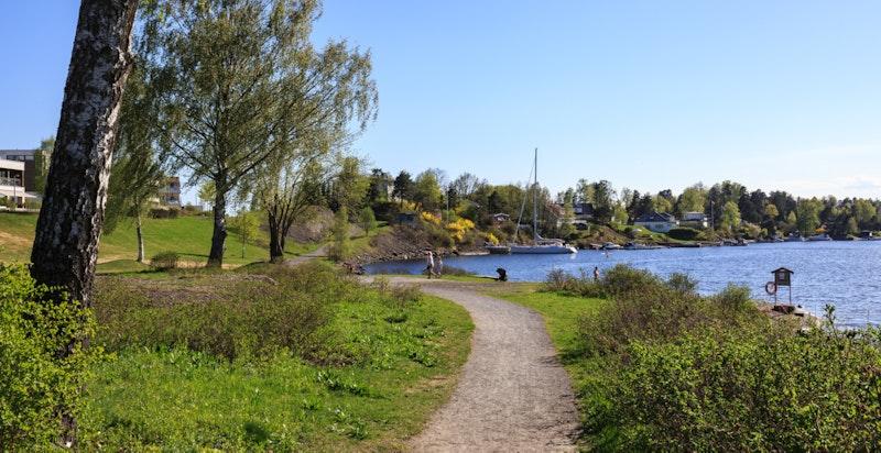 Naturskjønne rekreasjonsområder like utenfor døren