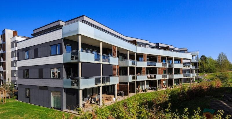 Moderne bebyggelse fra 2016