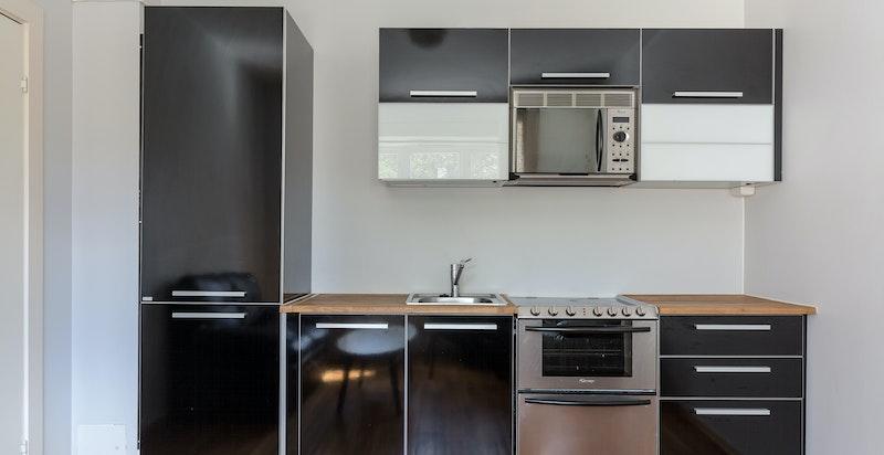Kjøkken i tilleggsdel/utleiedel