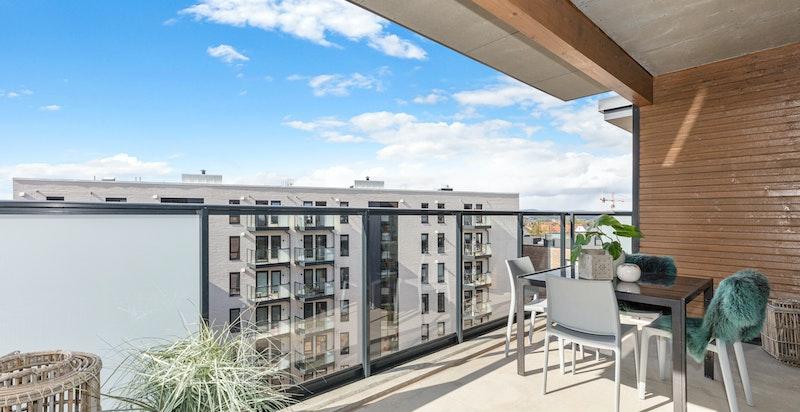 Balkong - leilighet H2706