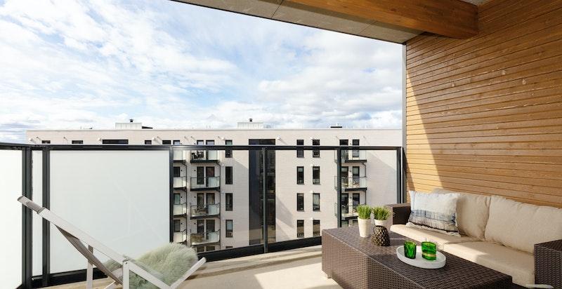 Balkong - leilighet H2704