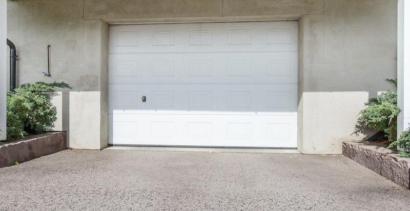Garasje innkjørsel