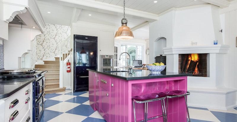 Snekkerbygd kjøkken fra Mark Wilkinson