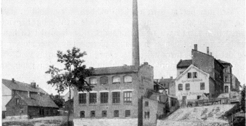 Historisk bilde av Øvre gate 7