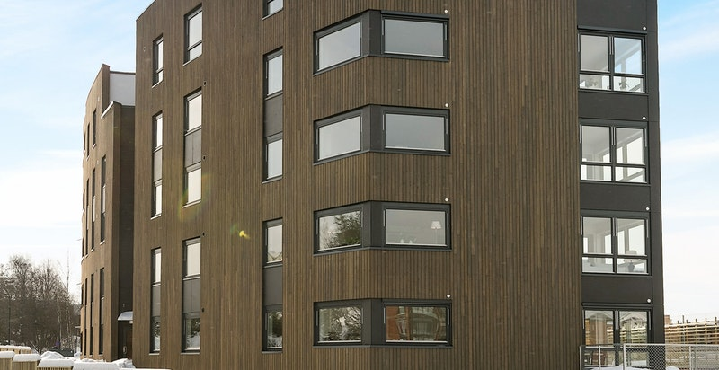 Fasade Ole Messelts Vei 1.