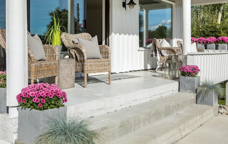 Overbygget terrasse ca. 13 kvm