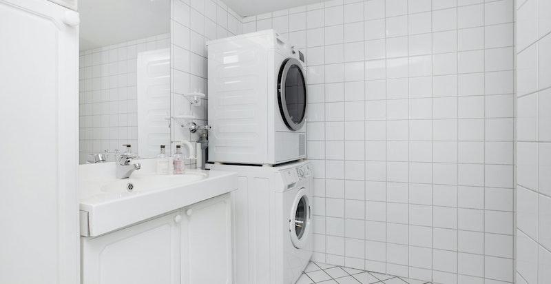 -Opplegg for vaskemaskin og tørketrommel