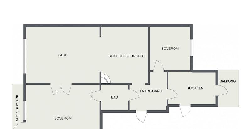 Planskisse 4. etasje
