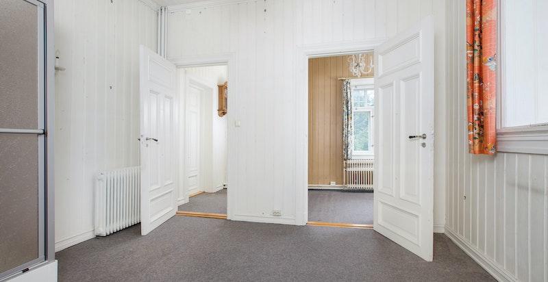 Kjøkken/bad med inngang til soverom