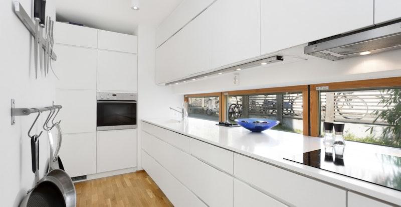 Kjøkken i seksjon 3
