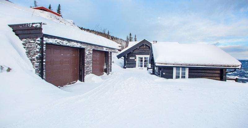 Vinter i Alpingrenda
