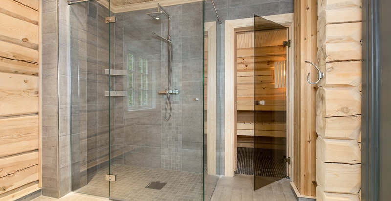 Inngang til badstue