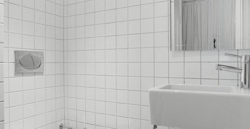 Toalettrommet rehabilitert/oppgradert i ca. 2004