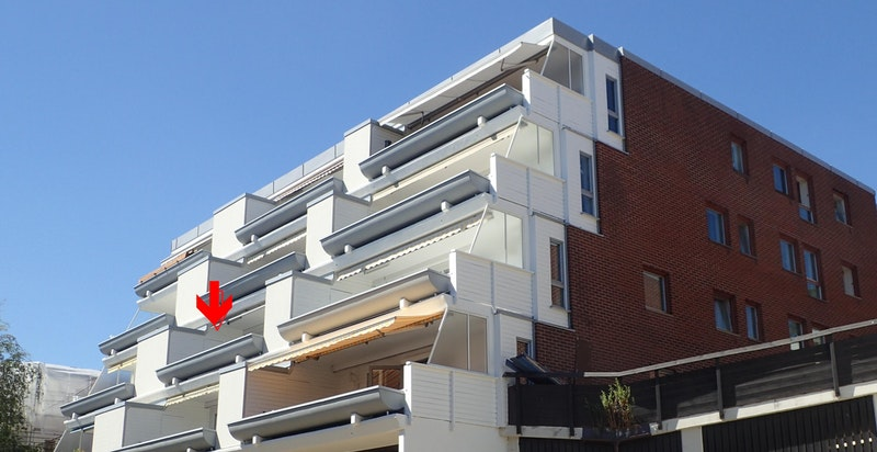 Fasade (nylig rehabilitert)