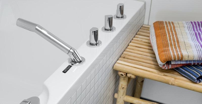 Detalj badekar