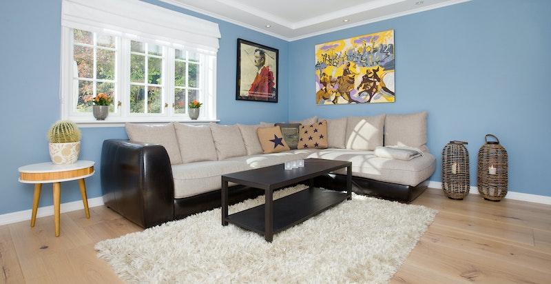 Del av stue som brukes som tv-stue