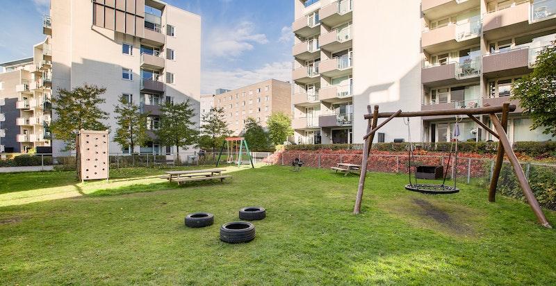 Grønne og hyggelige fellesarealer