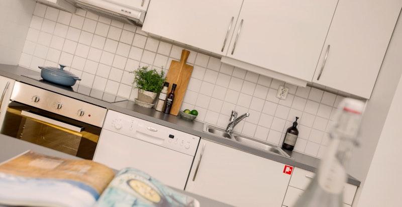 Detalj kjøkken.