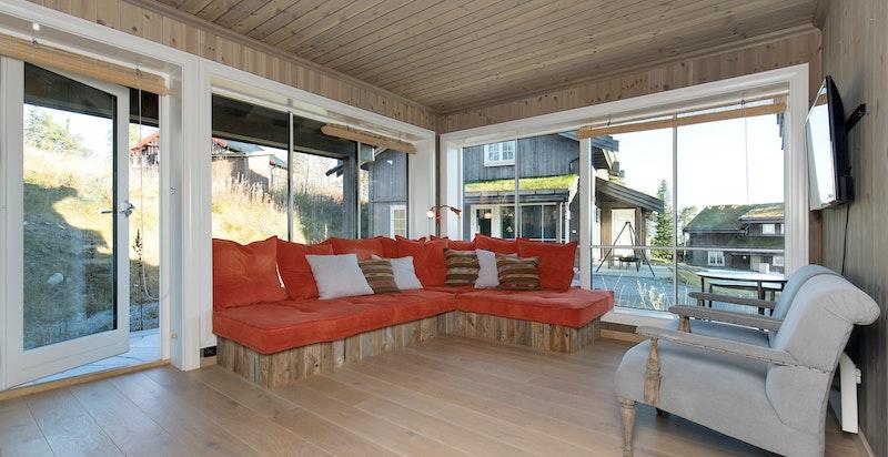 Plassbygget sofa