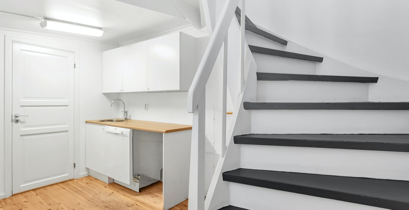 trappegang til 3 etasje