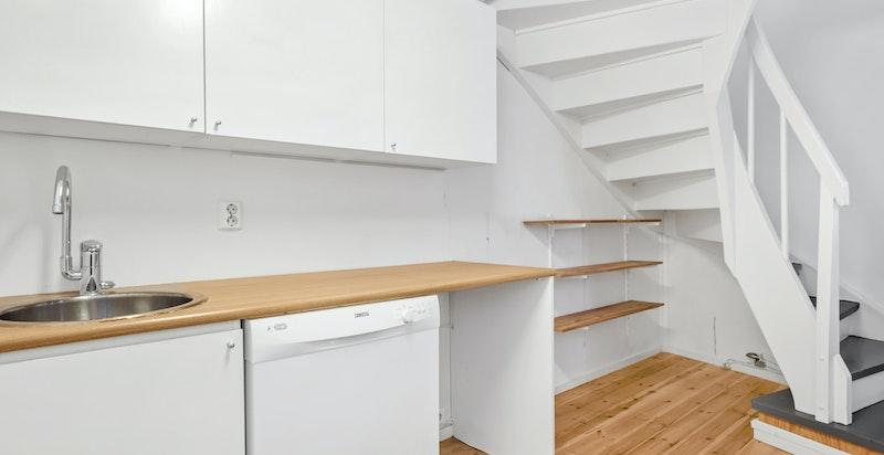 Kjøkken i andre etasje